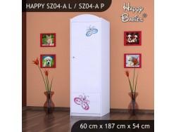 SZAFA HAPPY SZ04-A MOTYLEK