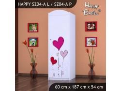SZAFA HAPPY SZ04-A SERCE NA BALONIKACH
