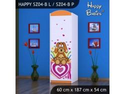 SZAFA HAPPY SZ04-B KUNDELEK I SERCA
