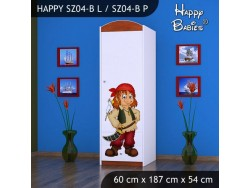 SZAFA HAPPY SZ04-B PIRAT