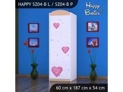 SZAFA HAPPY SZ04-B KSIĘŻNICZKA Z SERCEM