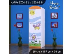 SZAFA HAPPY SZ04-B KWIATEK I MOTYL