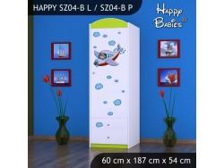 SZAFA HAPPY SZ04-B SAMOLOT