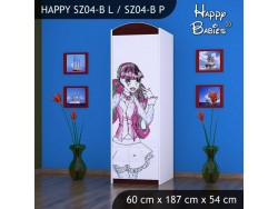 SZAFA HAPPY SZ04-B MONSTER TORALEI