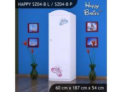 SZAFA HAPPY SZ04-B MOTYLEK