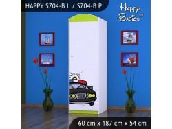 SZAFA HAPPY SZ04-B POLICJA