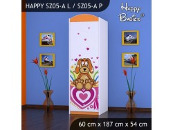 SZAFA HAPPY SZ05-A KUNDELEK I SERCA