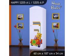 SZAFA HAPPY SZ05-A MISIU W CZERWONYM AUCIE