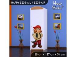 SZAFA HAPPY SZ05-A PIRAT