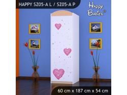 SZAFA HAPPY SZ05-A KSIĘŻNICZKA Z SERCEM