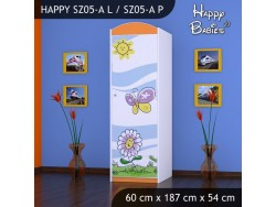 SZAFA HAPPY SZ05-A KWIATEK I MOTYL
