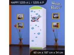 SZAFA HAPPY SZ05-A SAMOLOT