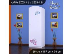 SZAFA HAPPY SZ05-A MOTYLEK
