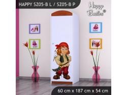 SZAFA HAPPY SZ05-B PIRAT