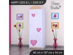 SZAFA HAPPY SZ05-B KSIĘŻNICZKA Z SERCEM
