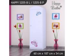 SZAFA HAPPY SZ05-B MOTYLEK
