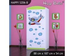 SZAFA HAPPY SZ06-B SAMOLOT