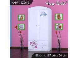 SZAFA HAPPY SZ06-B MOTYLEK
