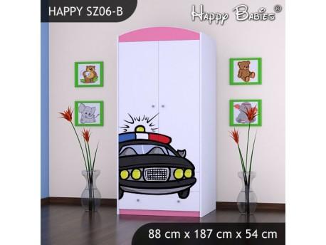 SZAFA HAPPY SZ06-B POLICJA