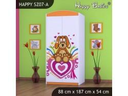 SZAFA HAPPY SZ07-A KUNDELEK I SERCA