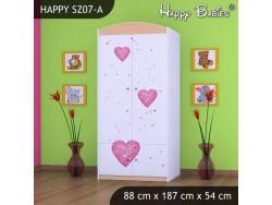 SZAFA HAPPY SZ07-A KSIĘŻNICZKA Z SERCEM