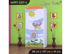 SZAFA HAPPY SZ07-A KWIATEK I MOTYL