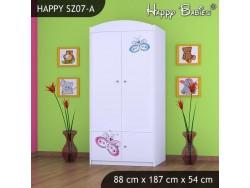 SZAFA HAPPY SZ07-A MOTYLEK
