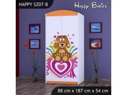 SZAFA HAPPY SZ07-B KUNDELEK I SERCA
