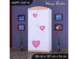 SZAFA HAPPY SZ07-B KSIĘŻNICZKA Z SERCEM