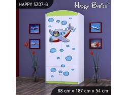 SZAFA HAPPY SZ07-B SAMOLOT