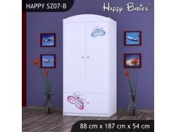 SZAFA HAPPY SZ07-B MOTYLEK