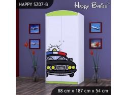 SZAFA HAPPY SZ07-B POLICJA