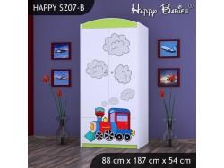 SZAFA HAPPY SZ07-B SUPER LOKOMOTYWA