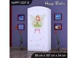 SZAFA HAPPY SZ07-B ZIELONA CZARODZIEJKA
