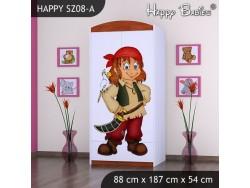 SZAFA HAPPY SZ08-A PIRAT