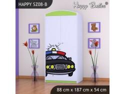 SZAFA HAPPY SZ08-B POLICJA