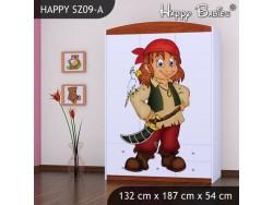 SZAFA HAPPY SZ09-A PIRAT
