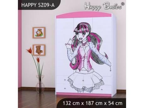 SZAFA HAPPY SZ09-A MONSTER TORALEI
