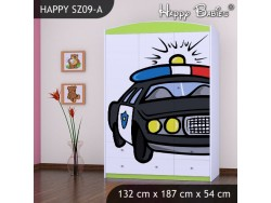 SZAFA HAPPY SZ09-A POLICJA