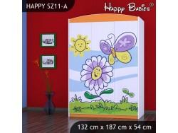 SZAFA HAPPY SZ11-A KWIATEK I MOTYL