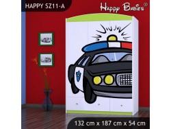 SZAFA HAPPY SZ11-A POLICJA