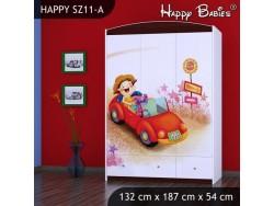 SZAFA HAPPY SZ11-A ŚPIEWAJĄCE AUTO