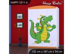 SZAFA HAPPY SZ11-A SMOK
