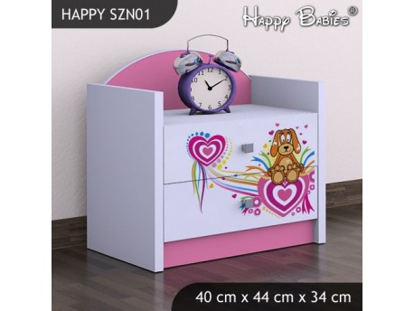 SZAFKA NISKA HAPPY SZN-01 KUNDELEK I SERCA