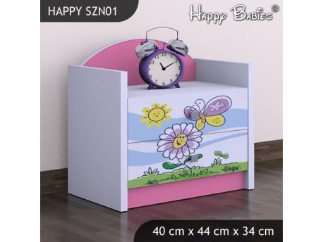 SZAFKA NISKA HAPPY SZN-01 KWIATEK I MOTYL