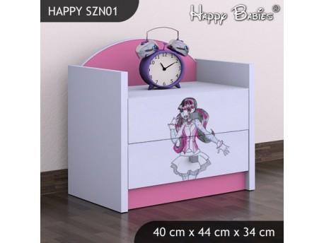 SZAFKA NISKA HAPPY SZN-01 MONSTER TORALEI