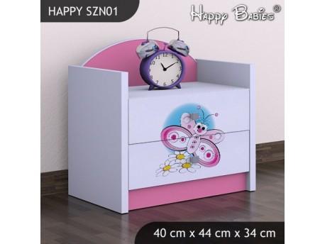 SZAFKA NISKA HAPPY SZN-01 MOTYLEK