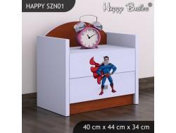 SZAFKA NISKA HAPPY SZN01 SUPERMAN