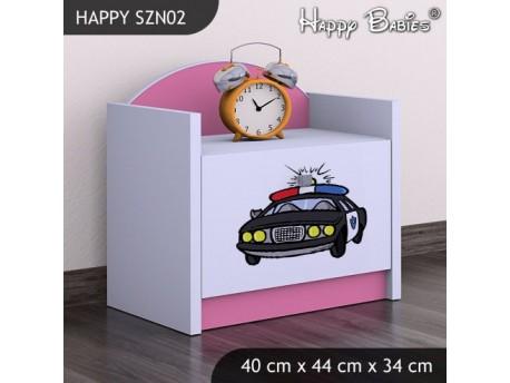 SZAFKA NISKA HAPPY SZN02 POLICJA