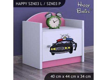 SZAFKA NISKA HAPPY SZN03 POLICJA